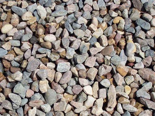 Фракции гравия и песка