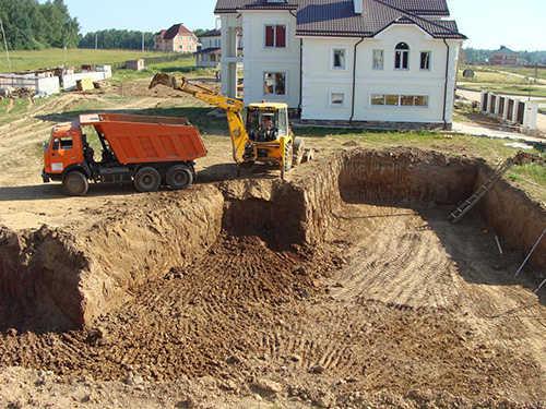 Подготовка строительной территории